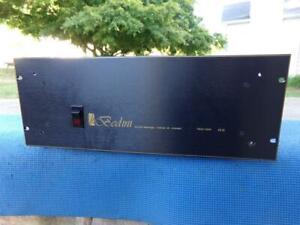 Super Nice Bedini 100/100 DE Class A Power Amplifier - Tested Classic