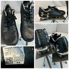 Under Armour Magnetico Pro FG Sz 6.5 Men Black Soccer Cleats NWOT YGI F0S-162
