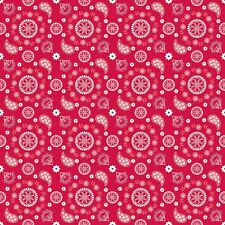 Star Spangled Red Bandana by Doodlebug Designs for Riley Blake, 1/2 yard fabric
