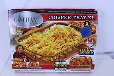 Gotham Steel Crisper Tray with Non-Stick Surface 2 PC Set XL 16.5 x 12.5
