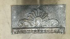 "Antique Victorian Tin Ceiling Wall Architectural Rectangular Tile  24"" x 13"""
