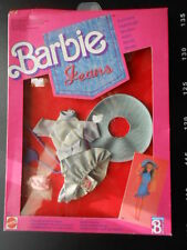 ♥ Barbie Dream Superstar Dress JEANS FASHIONS OUTFIT 2 Vintage ♥ Mattel