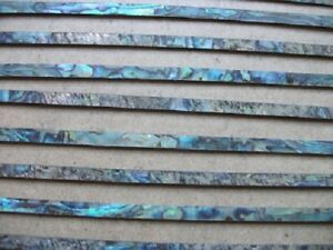 2 ft  of 5 mm Paua / Abalone  Inlay Strip - Purfling