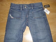(New w Tags) Diesel Ladies Hush-DS Style Size 29 Designer Jeans-Inseam 33