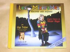 COFFRET 2 CD / LES MISERABLES / LU PAR GUY TREJAN++++++
