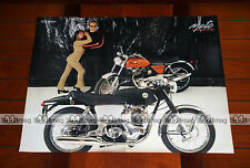 NORTON 750 COMMANDO - Poster MOTO #PM140