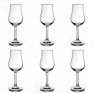6 Stück Destillatglas Classic mit Fuss  Nosing Glas Whiskey Stölzle