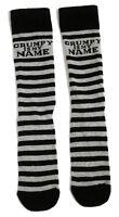 MENS GRUMPY IS MY NAME BLACK SOCKS UK 6-11 / EUR 39-45 / US 7-12