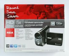 RCA EZ5000R HD 720p Digital Handheld Camcorder with 5X Optical Zoom MINT IN BOX