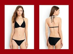Lands' End ~ Low Waist Women's Triangle Top Bikini Set $78 NIP