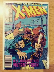 UNCANNY X-MEN 237 VF- MARVEL PA8-34