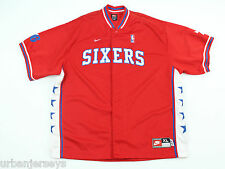 Vtg Philadelphia 76ers Warm-up Shooting Jersey by Nike Size XL *1977 Throwback*