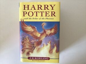 Harry Potter and the Order of the Phoenix, J. K. Rowling (Hardback, 2003) 1st Ed