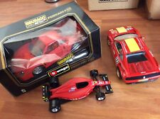 burago model cars 1:18 Ferrari F40 348 TB Evolutione F1 Car(1:24)