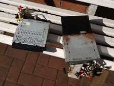 """Two off Airspeed DV725 7"""" pop out DVD with iPod stereo parts only not complete"""