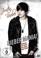 DVD - Justin Bieber - Bieber Mania - Nuovo/Originale