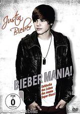 DVD - JUSTIN BIEBER - BEAVER MANIA - NEW / ORIGINAL PACKAGE