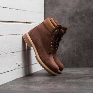 Brand New And Authentic Timberland A1Ly6 6 Inch Premium Nubuck Boot In Brown UK