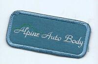 Alpine Auto Body patch 1-5/8 X 3-1/2 #650
