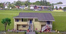 HO scale School buildings laser cut timber kit