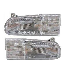HOLIDAY RAMBLER VACATIONER 2000 PAIR HEADLIGHT HEAD LIGHT FRONT LAMPS RV