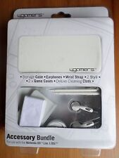 4GAMERS Accessory Bundle for Nintendo DS/DS Lite/DSi - WHITE - New in Packaging
