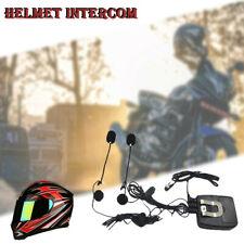 New Motorcycle Motorbike Helmet Intercom interphone 2-Way Headset Mic MP3 MJV CA