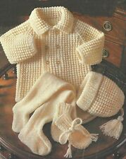 7f68a378054b Knitted Pram Set in Crocheting   Knitting Patterns