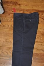 Isaia Washed Navy Chino - Size 50R Made in Italy New WIth Tags
