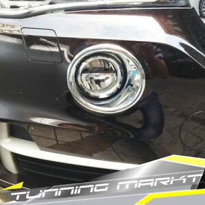 Chrom Nebelscheinwerfer Blenden für BMW X5 F15 ab 2013 bm51