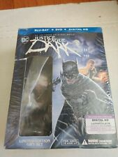 New listing New Torn Justice League Dark Best Buy Le Gift Set Blu Ray Dvd Figurine & Novel