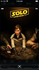 Topps Star Wars Digital Card Trader Solo Poster Series Set B Qi'Ra Insert