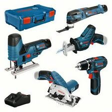 Bosch 12V 5 tool KIT + GBA + GAL + XL-boxx 0615A0017C Akku 3,0 Ah XL-Boxx