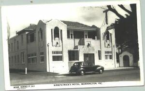 Rose Series Archives postcard - P361 Kirkpatrick's Hotel Mornington
