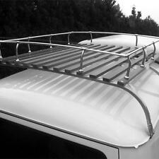 VW Bus Bulli T1 T2, 3-reihiger Dachgepäckträger Westfalia Repro poliert (0487-2)
