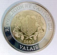 SUISSE - REPUBLIQUE ET CANTON DU VALLAIS - SION 2006 - 10 FRANCS JUSQU'EN 1999