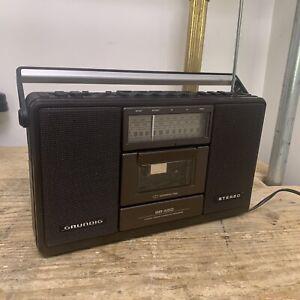 Vintage Grundig RR450 Portable Cassette Radio Boombox Ghettoblaster
