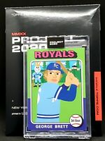 Topps PROJECT 2020 Card 102 - 1975 George Brett by Keith Shore Print Run: 10757