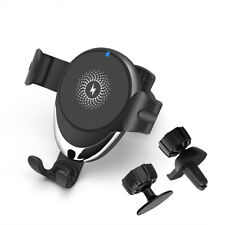 AU 15w Qi Wireless Car Charger Mount Gravity Holder for iPhone 12 Pro Max 11 XS