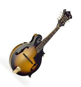 Ozark Electro-Acoustic 'F' model Mandolin with Padded Gig Bag 2255E