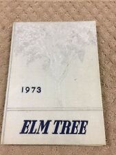 1973  HILLHOUSE HIGH SCHOOL YEARBOOK, THE ELM TREE, NEW HAVEN, CONNECTICUTb10