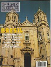 Les Dossiers d'archéologie N°169 mars 1992 Brésil