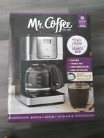 Mr. Coffee Jwx Series 12-cup Programmable Coffeemaker, Stainless Steel, JWX36-RB