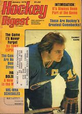 Hockey Digest Magazine January 1979 Danny Gare 072017nonjhe
