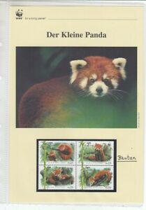 WWF   2009  Bhutan    Der Kleine Panda    Kapitel kplt.