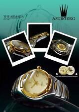 Luxury Armada Men´s astbörg TurboDiesel Watch eta-swiss Timepiece 2824-2-saphir