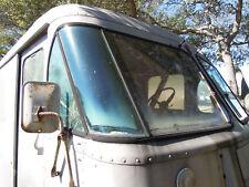 PASSENGER SIDE ONLY..Rare Early SHORT Version Grumman Corner Step Van Window