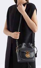 Ralph Lauren Purple Label Collection Pelle Nera Ricky Crossbody Bag Prezzo Consigliato £ 1850