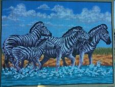Tapestry - Printed Canvas - Zebras - Made in EU - Collection D'Art