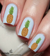 pineapple Grape Fruit Nail Art Water Transfer decal sticker 117